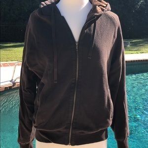 Hawke & Co outfitters brown zip up jacket